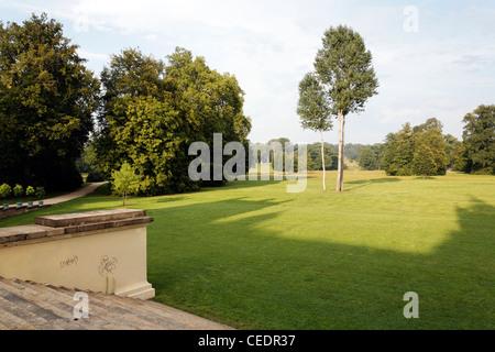 Bad Muskau, Landschaftspark (Park Muzakowski) - Stock Photo