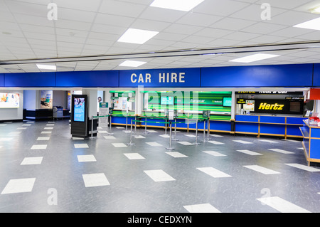 car hire centre avis budget hertz enterprise national and stock photo 57624686 alamy. Black Bedroom Furniture Sets. Home Design Ideas