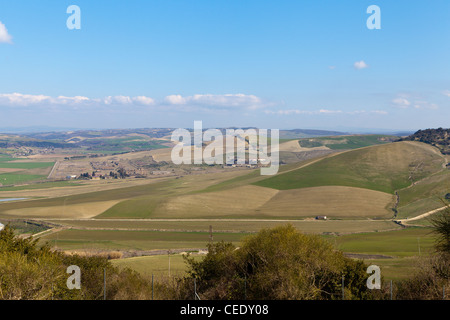 Viterbo countryside Italy - Stock Photo