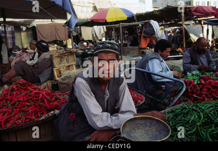 Bazaar In Mazar I Sharif Afghanistan Stock Photos & Bazaar