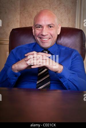 Happy Businessman portrait - Stock Photo
