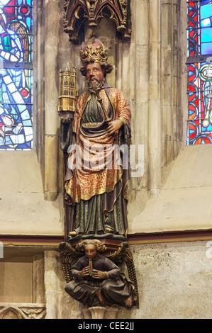 Aachen, Münster (Pfalzkapelle) - Stock Photo