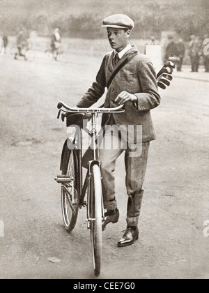 The Prince of Wales, later Edward VIII, seen here in 1912. - Stock Photo