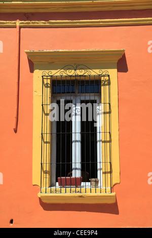 Colonial architecture, Oaxaca City, Oaxaca, Mexico, Latin America - Stock Photo