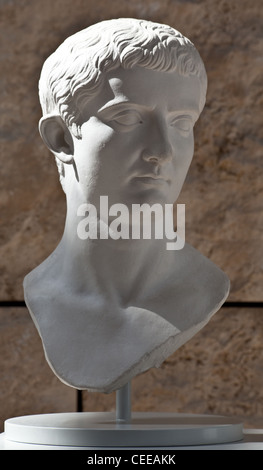 Rom, Friedensaltar des Augustus - Stock Photo