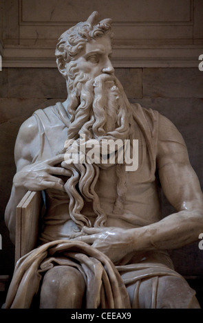 Rom, San Pietro in Vincoli, Grabmal für Papst Julius II. - Stock Photo