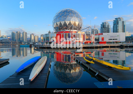 World of Science, False Creek, Vancouver British Columbia, Canada - Stock Photo