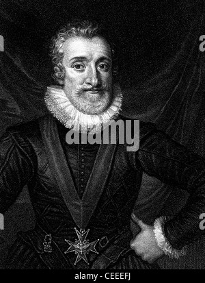Henry IV King of Navarre and king of France - Stock Photo