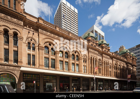 The Queen Victoria Building, or QVB, Sydney, Australia - Stock Photo