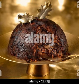 Waitrose Xmas pudding 2012 - Stock Photo