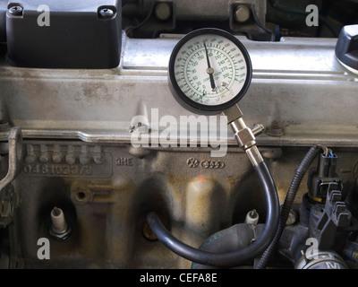 compression test - Stock Photo