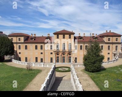 The Villa della Regina in Turin Italy - Stock Photo