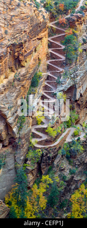 Walter's Wiggles. Zion National Park, Utah - Stock Photo