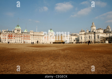 Horse Guards Parade, London, UK - Stock Photo