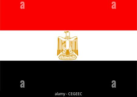 Egypt National Flag Stock Vector Art Illustration Vector Image