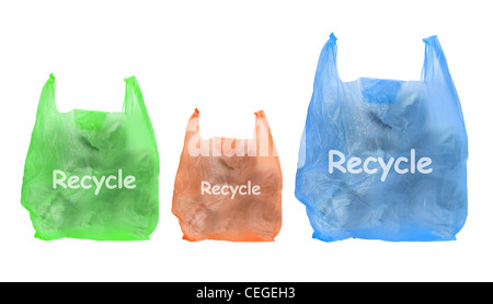 Bags of Garbage - Stock Photo