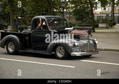 Hot Rod Chevy - Stock Photo