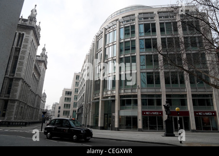 A view of the Rolls Building in the City of London England UK  KATHY DEWITT - Stock Photo
