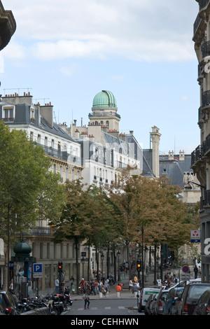Sorbonne observatory - Stock Photo