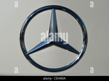 Mercedes benz symbol stock photo royalty free image for Mercedes benz stock symbol