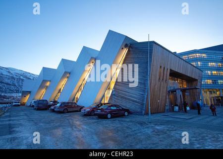 Polaria, Museum in Tromso - Stock Photo