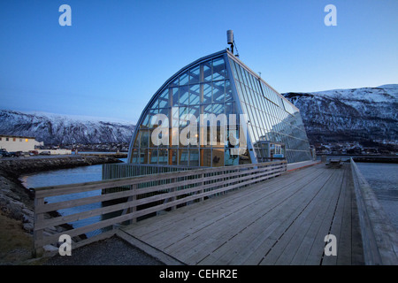 Polaria, Museum in Tromso - Stock Photo