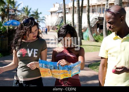 Ushaka Marine World Durban,KwaZulu-Natal. - Stock Photo