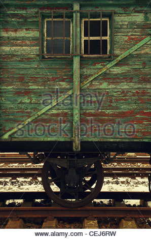 Detail of an Old Wagon - Stock Photo