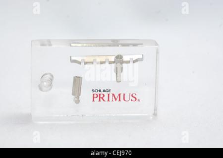 schlage primus locks. Schlage Primus Lock Pins And Sidebar - Stock Photo Locks 9