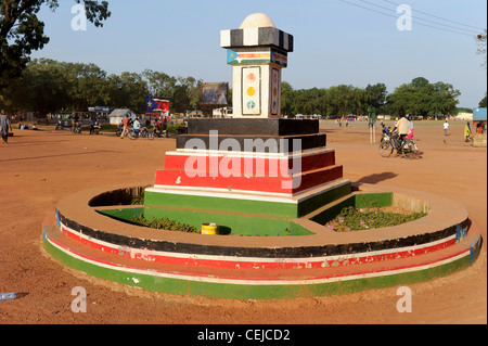 Africa SOUTH SUDAN Bahr al Ghazal region , Lakes State, town Rumbek , freedom or Independence Square with monument - Stock Photo