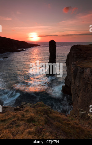 Orkney Islands, Yesnaby - Stock Photo