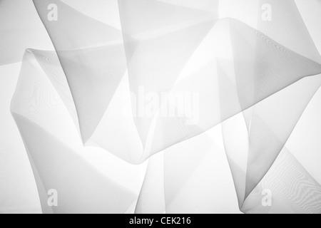 Abstract soft black chiffon texture - Stock Photo