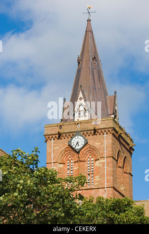 St. Magnus Cathedral in Kirkwall, Orkney Islands, Scotland. - Stock Photo