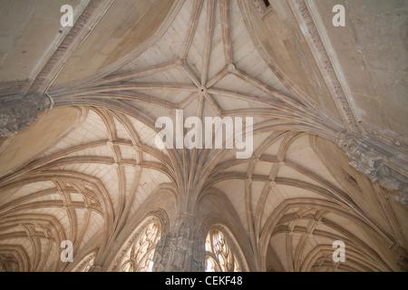 Designed architect Juan Guas Franciscan monastery built 1477 1504 order Catholic Monarchs Ferdinand II Isabella - Stock Photo