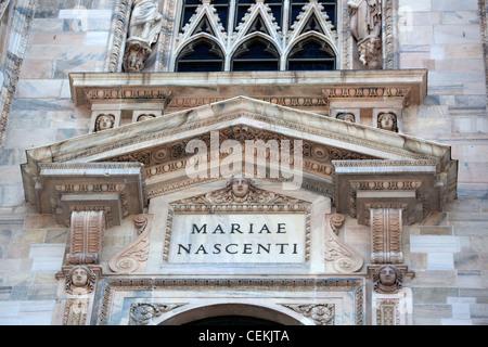 Italy, Milan, Milan Cathedral, Windows - Stock Photo