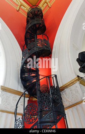 ... A Lovely Wrought Iron Spiral Staircase In The Queen Victoria Building  Shopping Centre In Sydney Australia