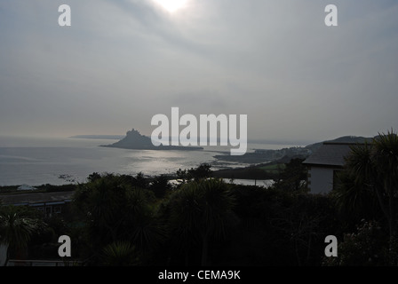 St. Michaels Mount at dusk number 3020 - Stock Photo