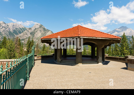Cave and Basin National Historic Site, Banff, Alberta, Canada. - Stock Photo