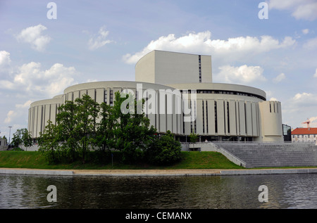 Bydgoszcz -- a medium-sized town in northern part of Poland. - Stock Photo