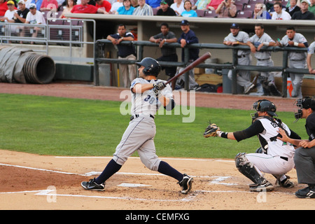 Baseball Batter Flexibility. - Stock Photo