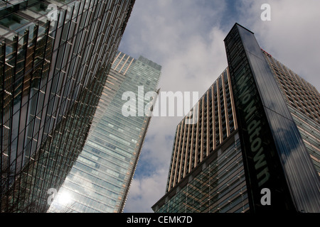 Tokyo Midtown tower, shopping and office complex building in Roppongi, Tokyo, Japan - Stock Photo