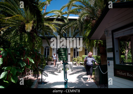 Ernest Hemingway home and museum - Stock Photo