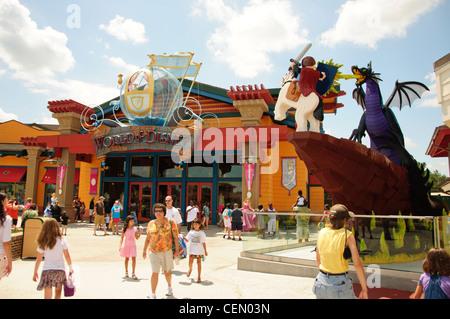 walt disney world resort parks downtown disney lego dragon Stock ...