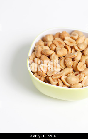 Peanuts in a bowl - Stock Photo