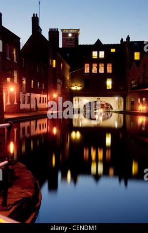 UK, England, Birmingham, Canal area - Stock Photo