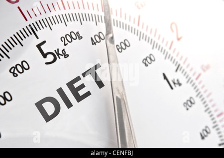 Counting the calories. - Stock Photo