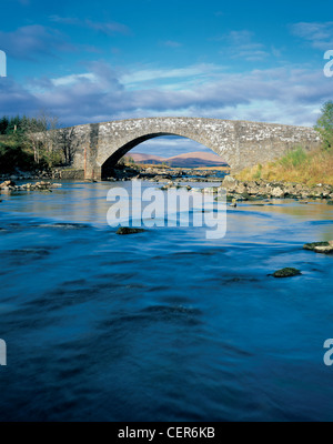 Bridge over the River Orchy in Glen Coe. - Stock Photo