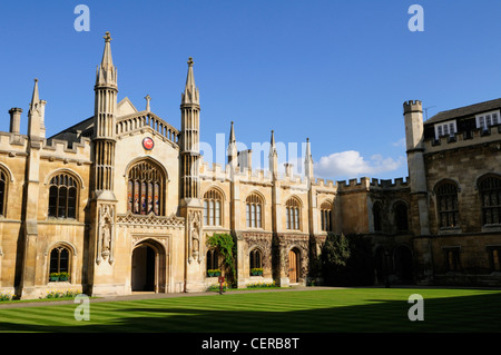 Corpus Christi College, one of the ancient colleges of the University of Cambridge. - Stock Photo