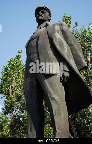 Ukraine. Autonomous Republic of Crimea. Feodosiya. Vladimir Lenin (1870-1924). Russian revolutionary and politician. - Stock Photo