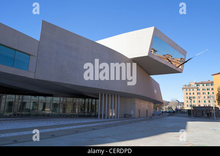The MAXXI, National Museum of 21st Century Arts, Rome, Italy - Stock Photo